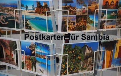 Mit Post- und Weihnachtskarten Helfer unterstützen
