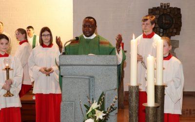 Verabschiedung Pastor Martin Eluke