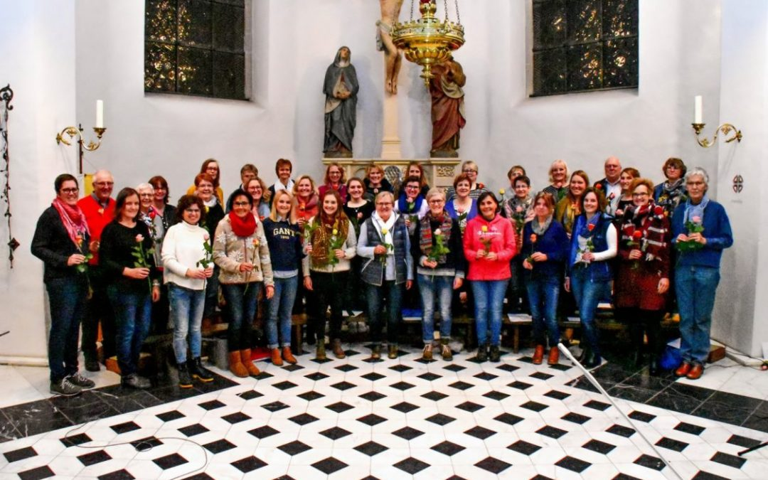 Chor Jubiläen in Nordkirchen