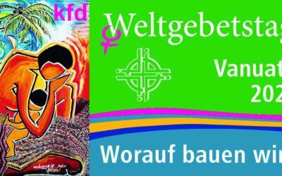 Weltgebetstag und 10 Minuten Andacht kfd Nordkirchen