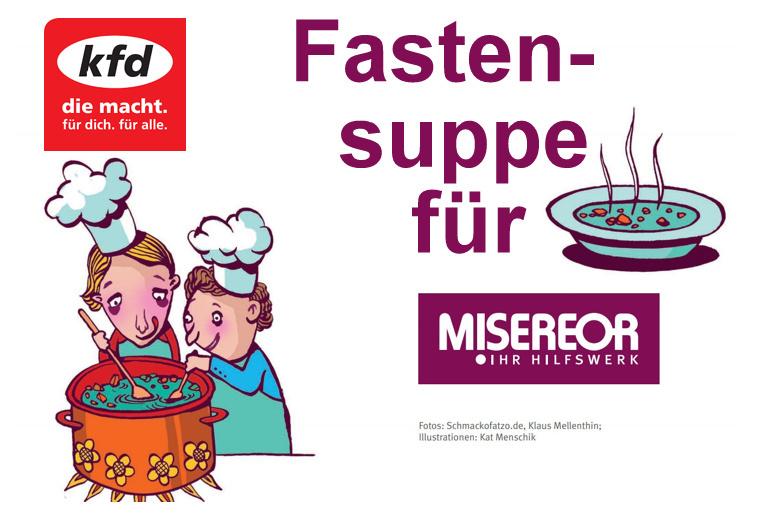 """Fastensuppe """"to Go"""" der kfd in SK"""