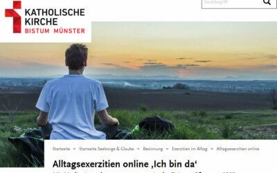 Alltagsexerzitien online 'Ich bin da'