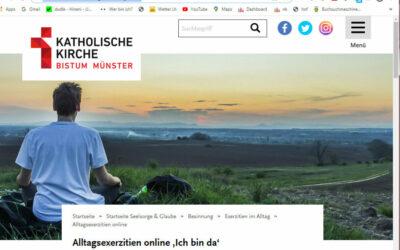 ICH BIN DA – Alltagsexerzitien online