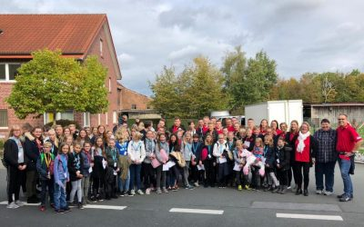 Reisesegen für das Herbstlager in Südkirchen