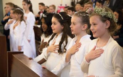 Die Erstkommunionfeiern laufen an